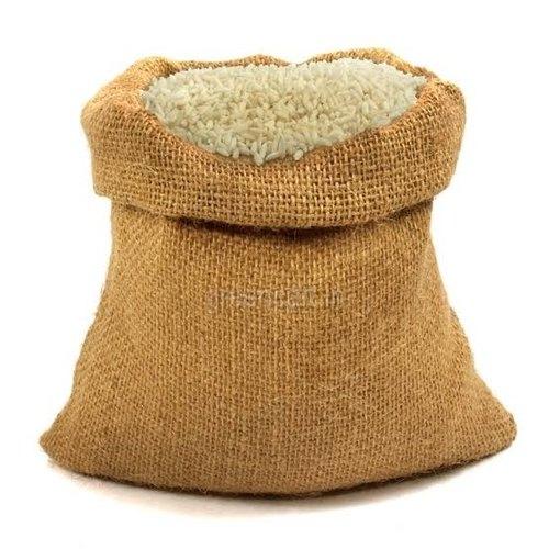 Brown 50 kg Rice Jute Gunny Bag