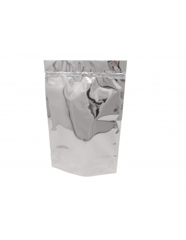 Silver Shine Stand Up Pouch with Zip Lock 1