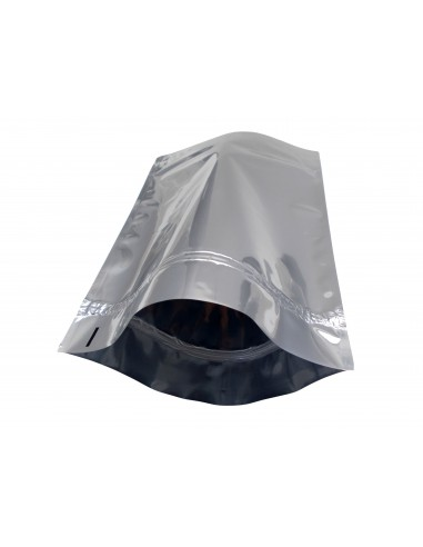 Silver Shine Stand Up Pouch with Zip Lock 2