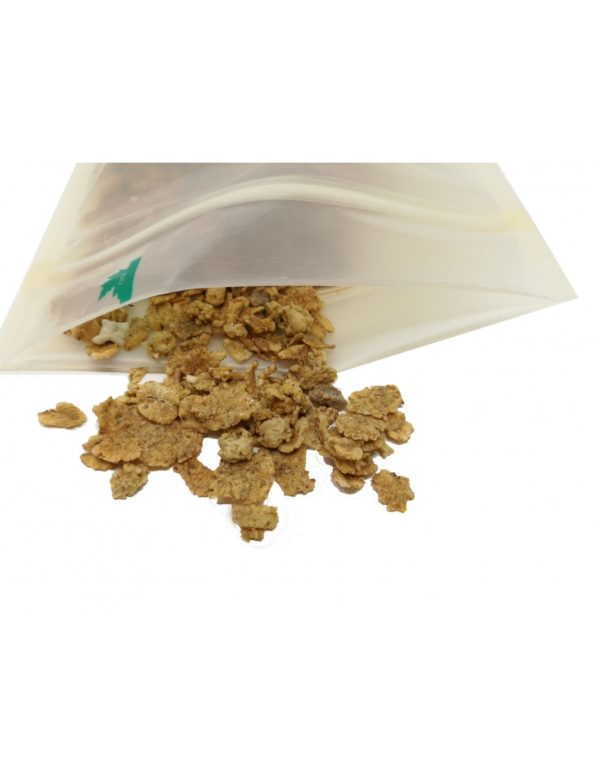 Translucent Fully Biodegradable Stand Up with Zip Lock 2