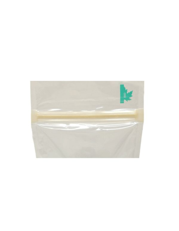 Transparent Fully Biodegradable Pouch with Zip Lock